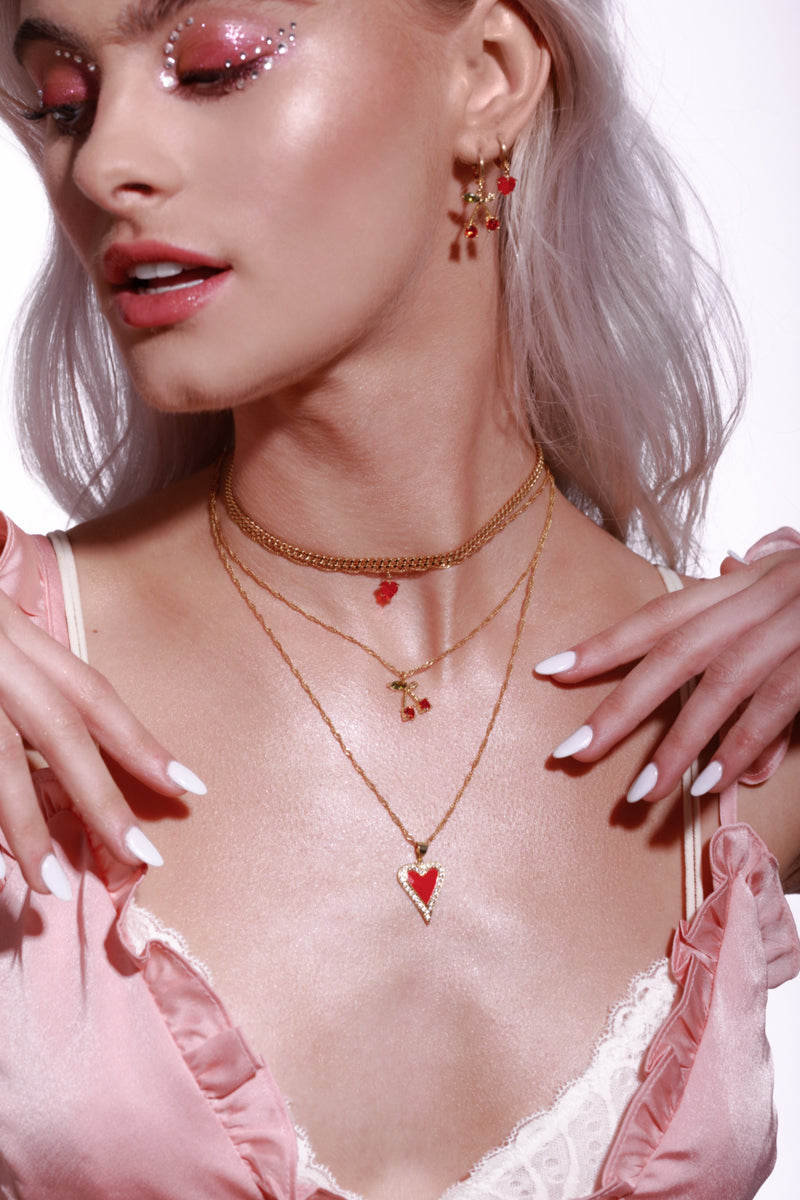 Cherry Kiss Necklace