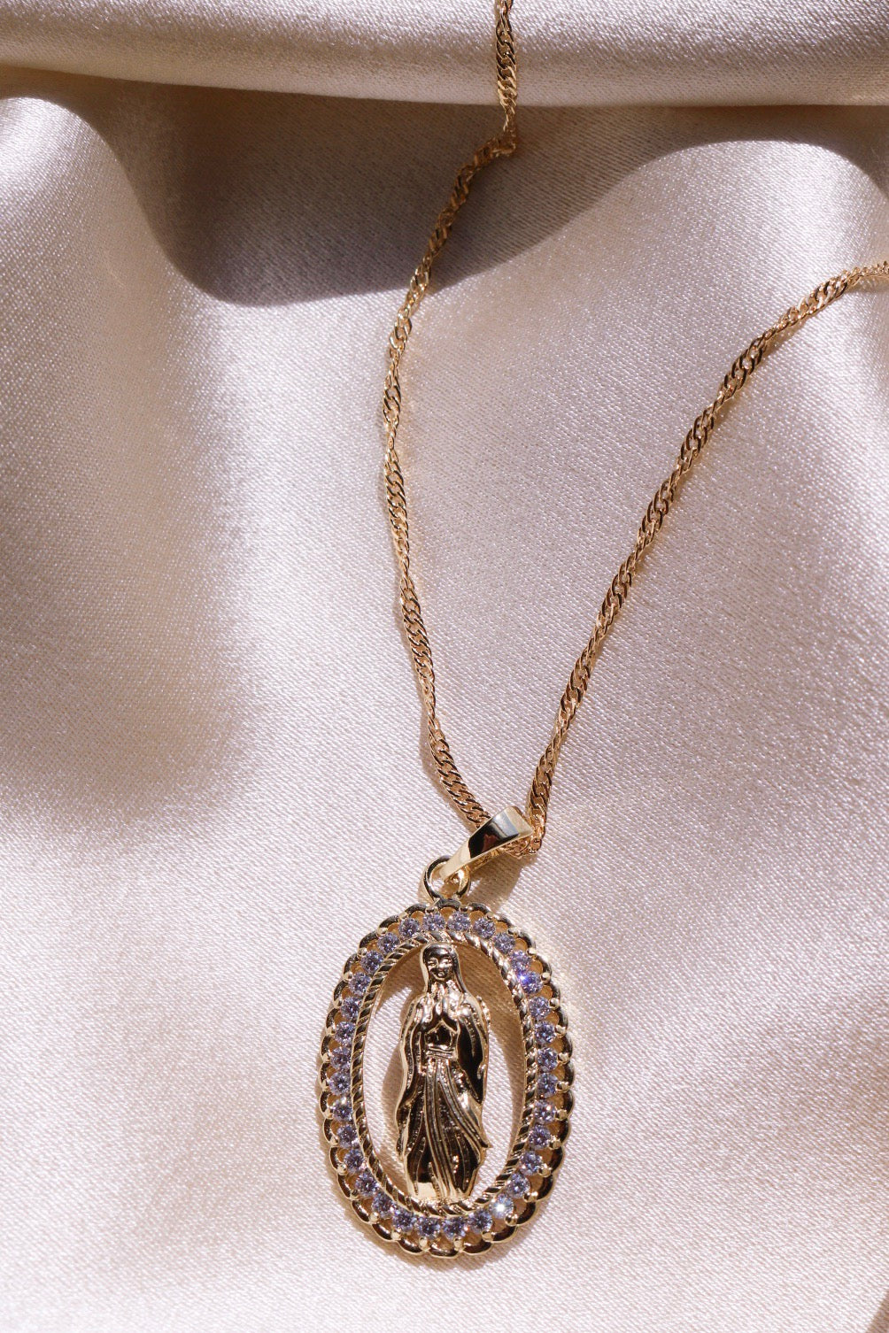 Faith Necklace - Gold Filled