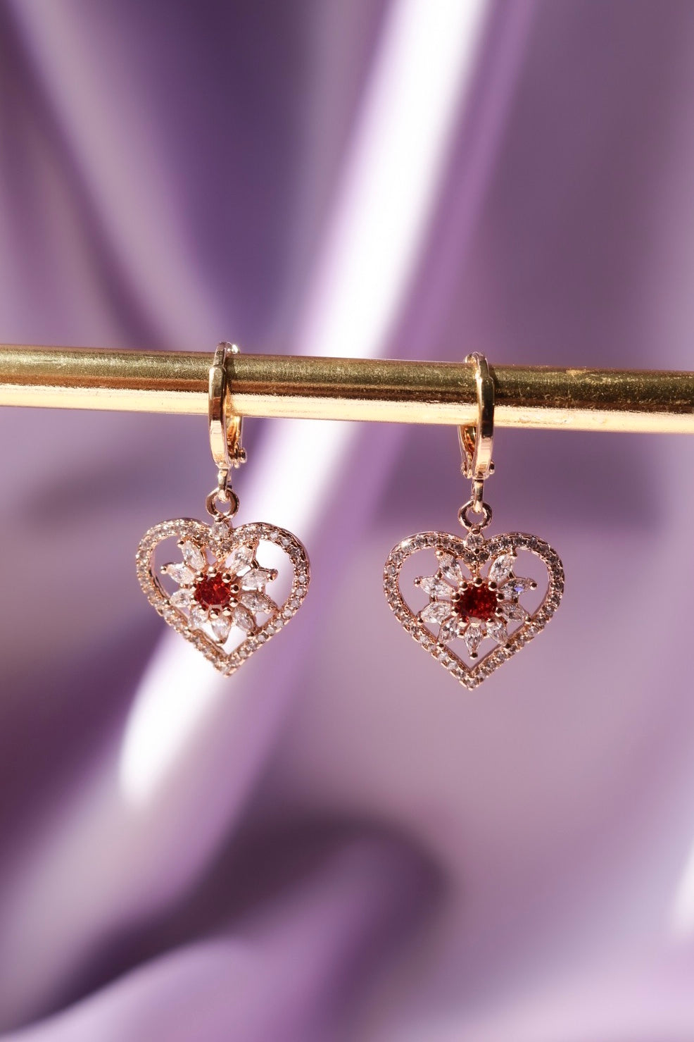 Gold Filled Heart Earrings