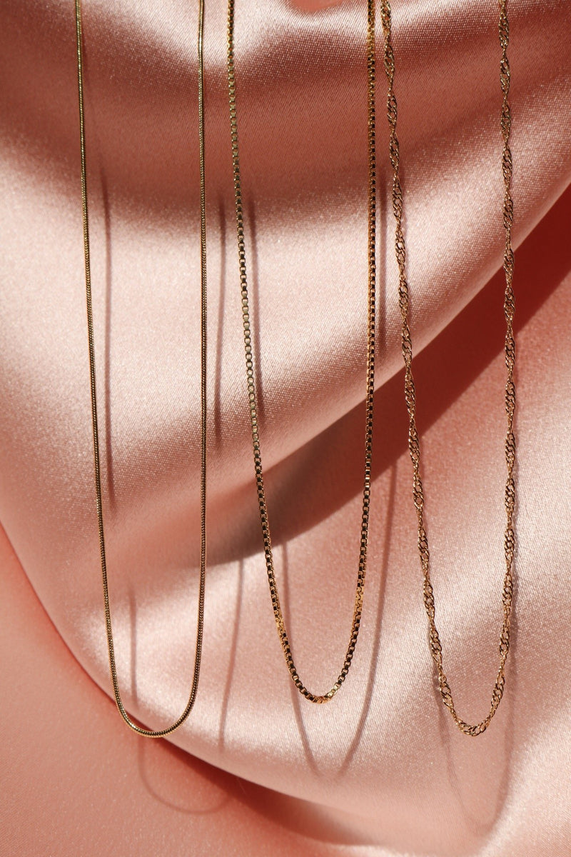 Dainty Gold Filled Chains