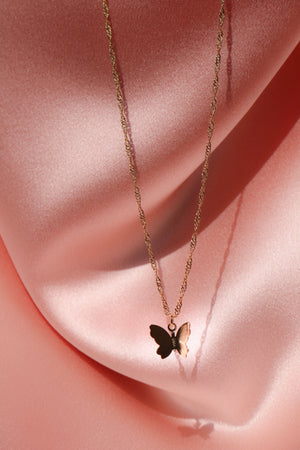 charming butterfly necklace
