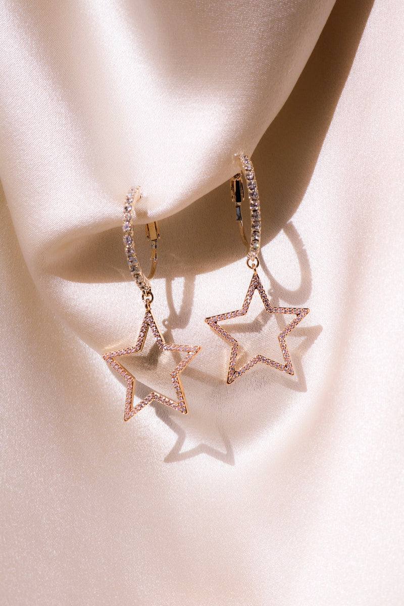 Star Drops with Cubic Zirconia
