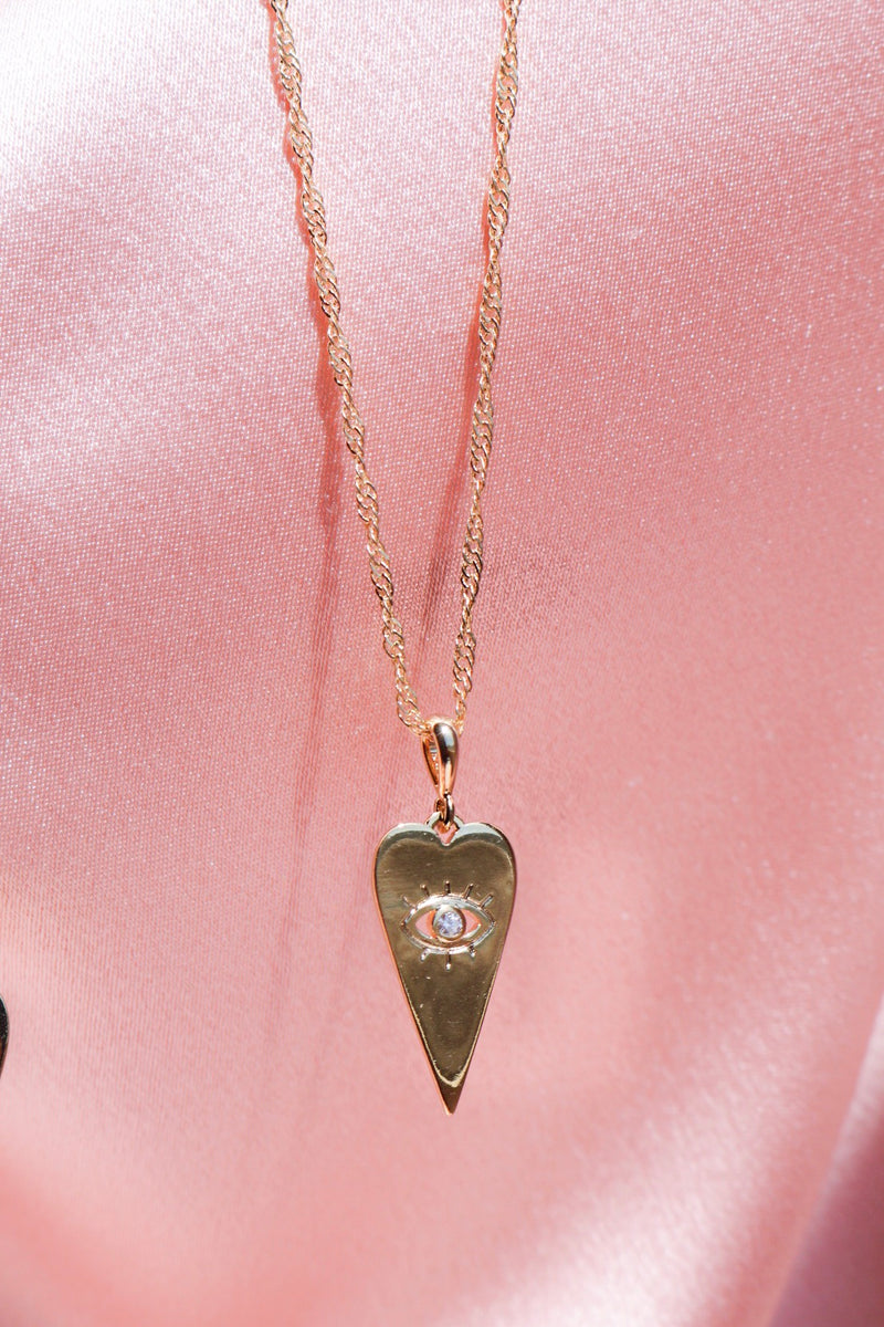 Gold Plated Good Fortune Necklace