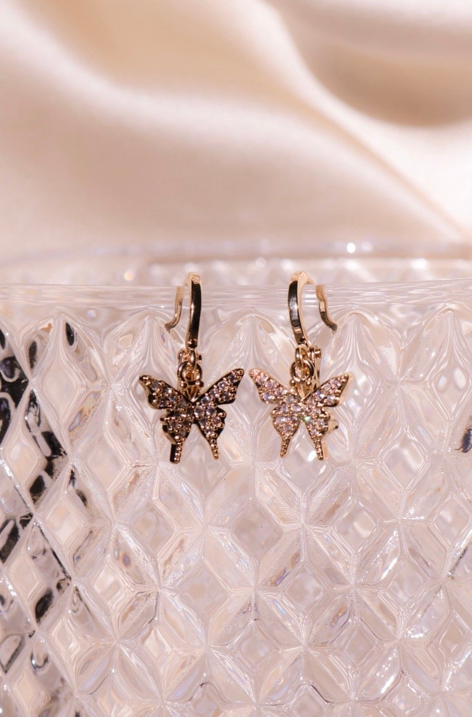 Petite Butterfly Earrings