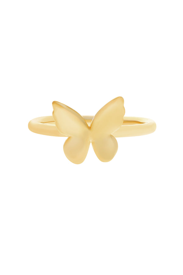 Alida Butterfly Vermeil Ring image-Chvker Jewelry