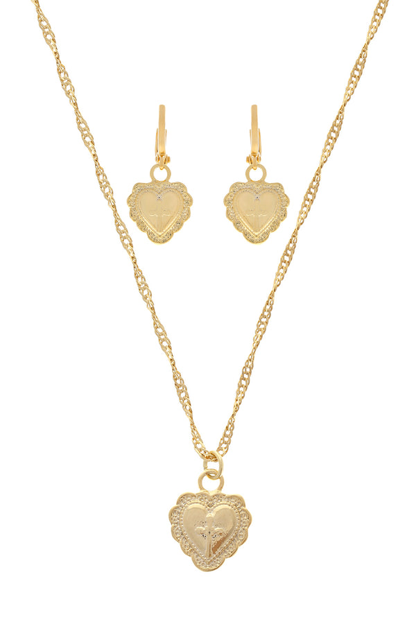 Amore Heart Set image-Chvker Jewelry