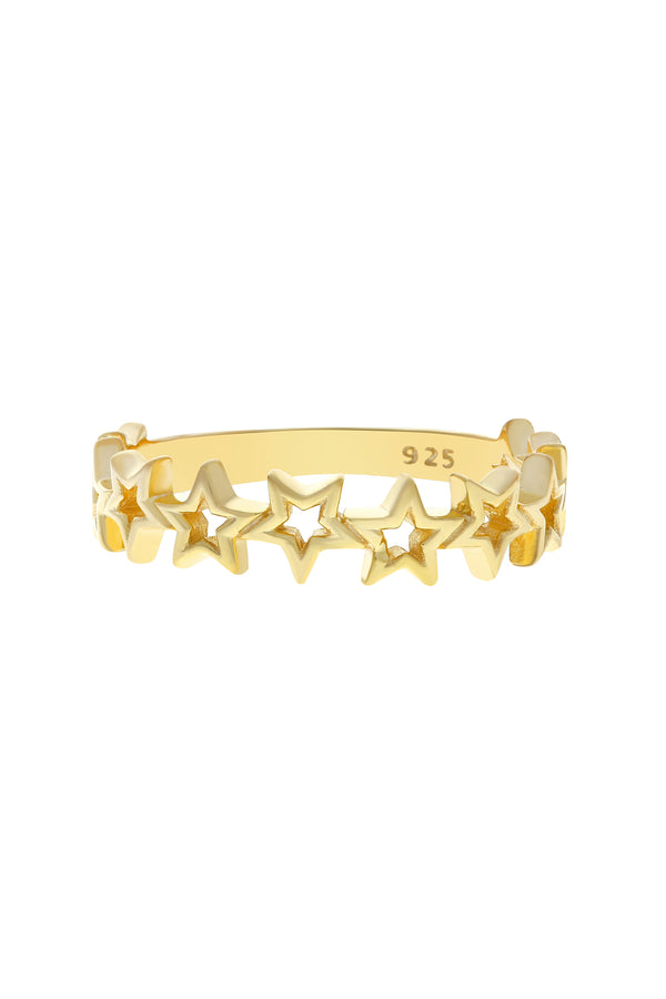 Ara Star Vermeil Ring