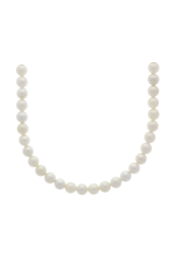 Classic Pearl Vermeil Necklace-Chvker Jewelry