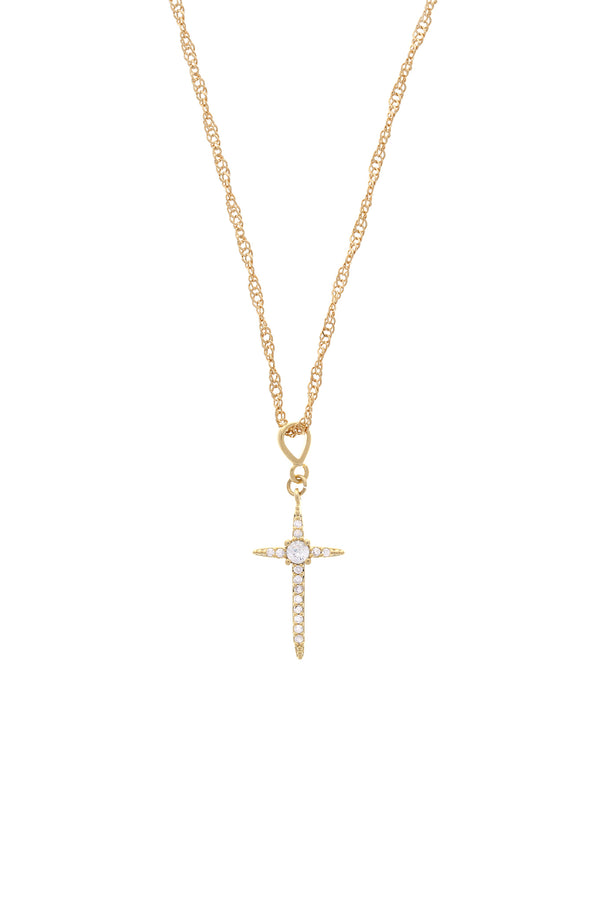 Diva Cross Necklace