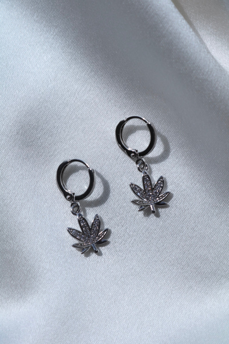 Silver High Times Earrings