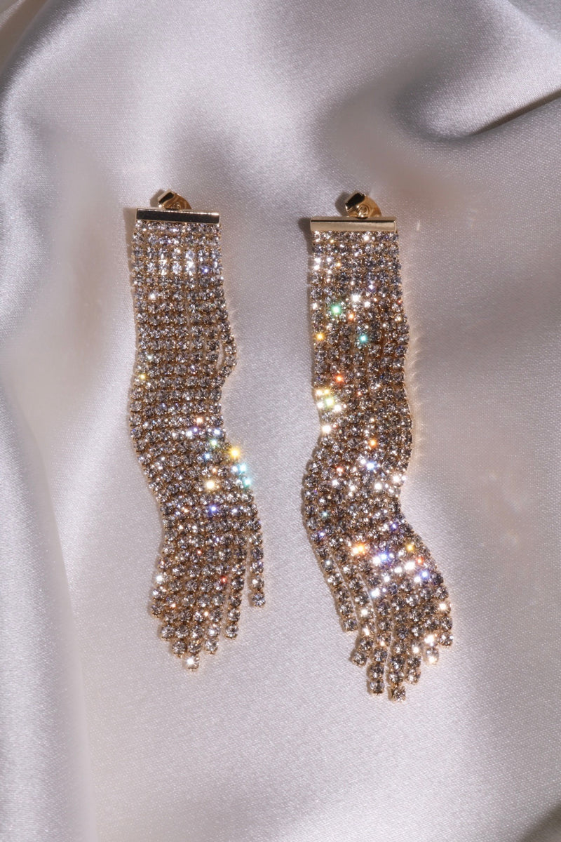 Angelic Touch Duster Earrings-Chvker Jewelry