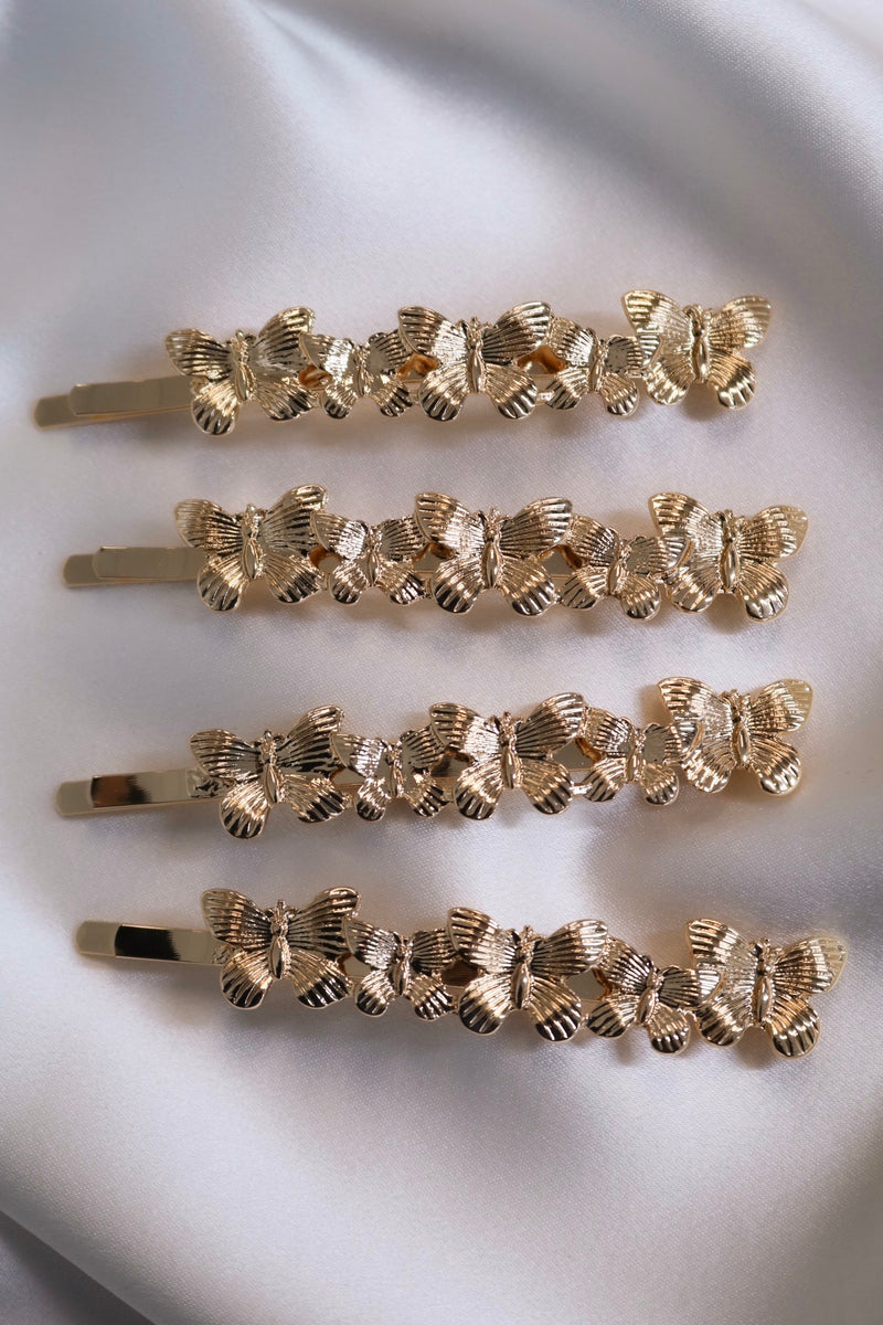 Butterfly Glam Hair Pins (Pack of 2)