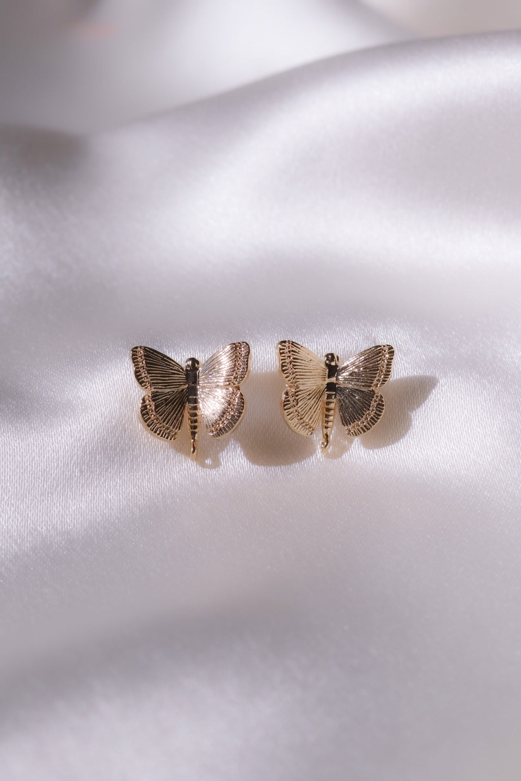 Butterfly Dreams Stud Earrings-Chvker Jewelry