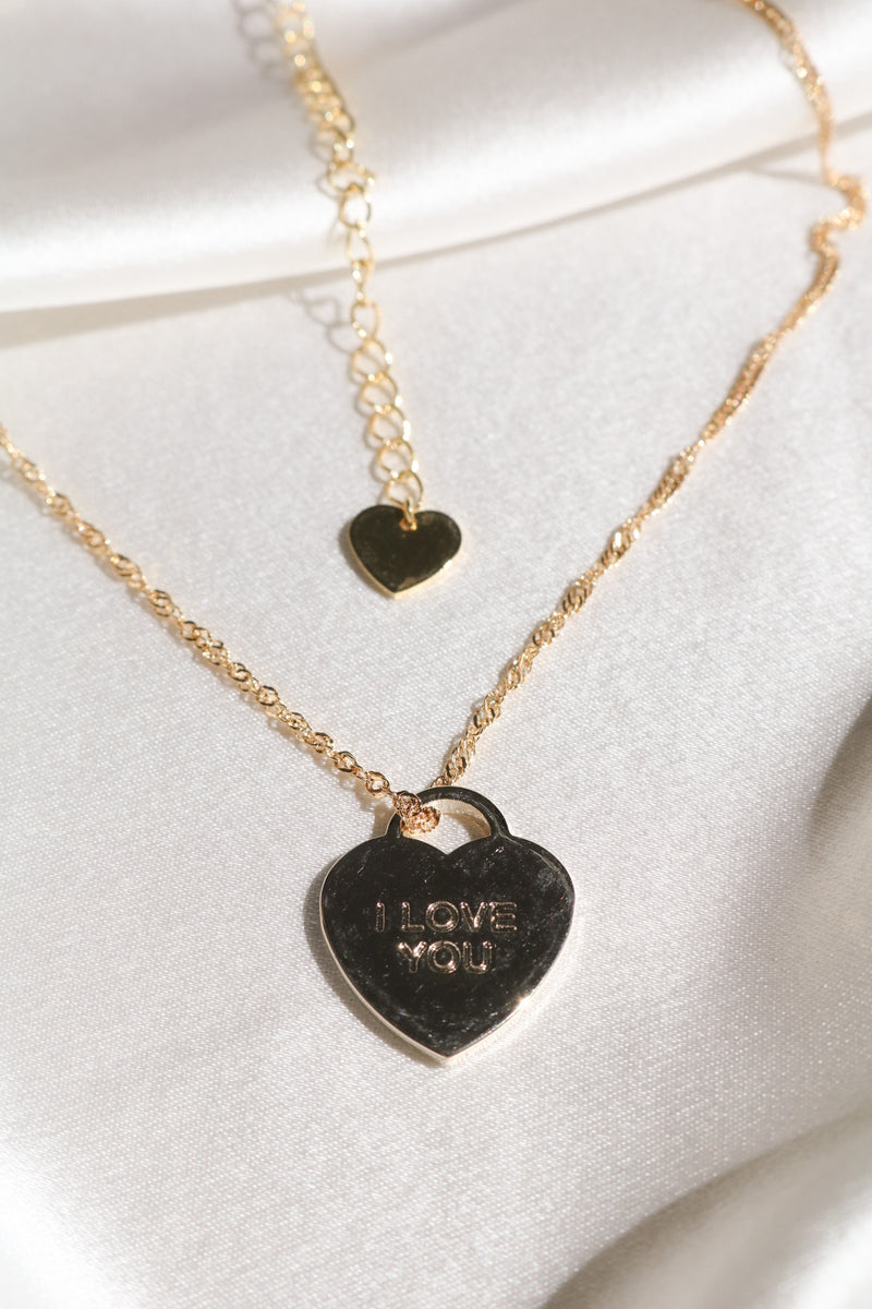 I Love You Necklace-Chvker Jewelry