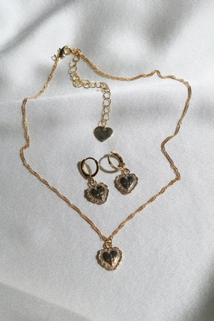 Amore Heart Set-Chvker Jewelry
