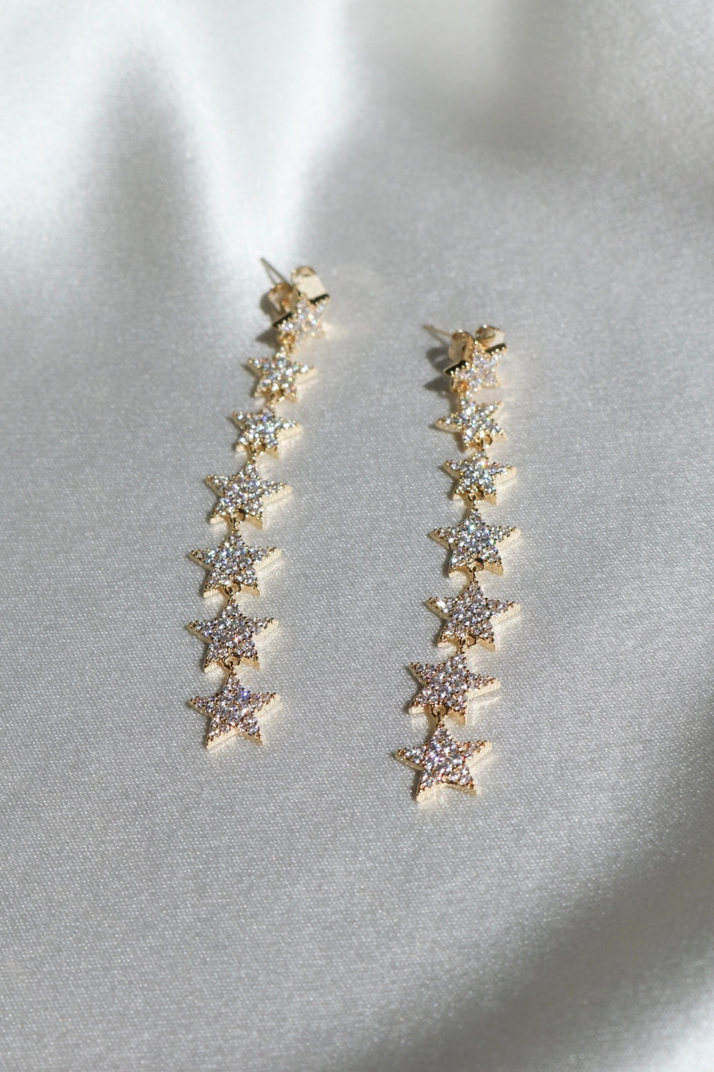 Stargaze Drop Earrings-Chvker Jewelry