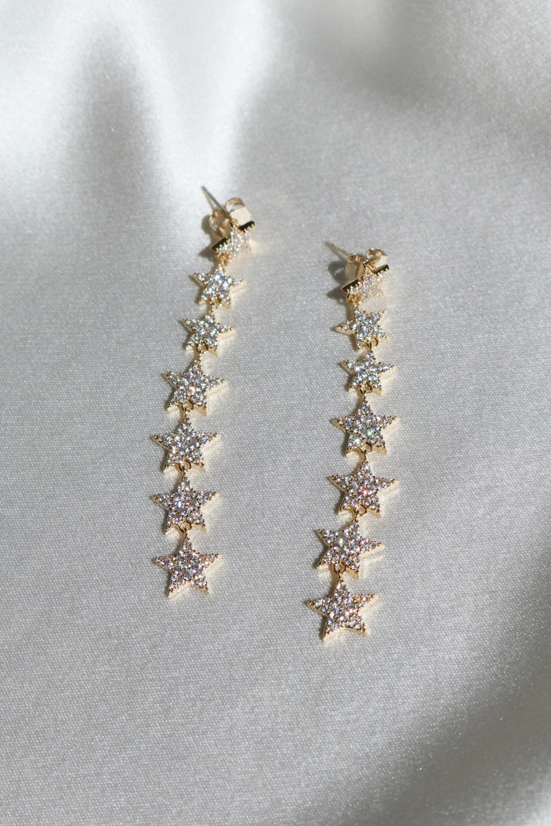 Stargaze Drop Earrings