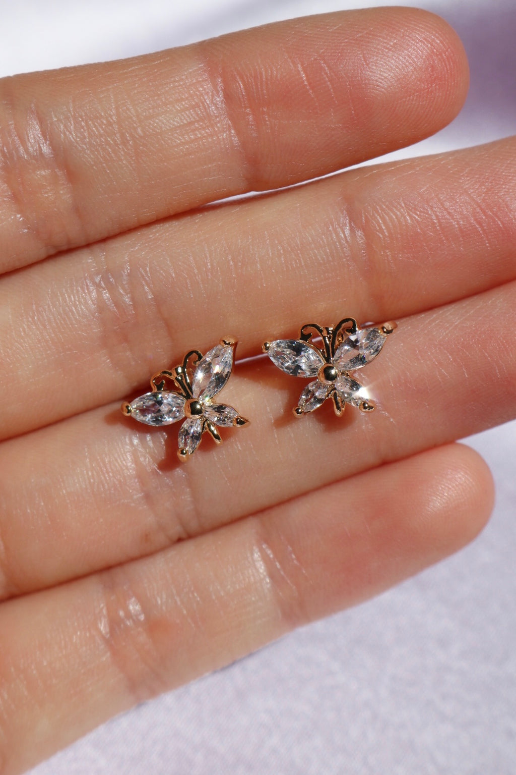 Butterfly Garden Stud Earrings