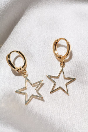 Estrellita Star Earrings-Chvker Jewelry