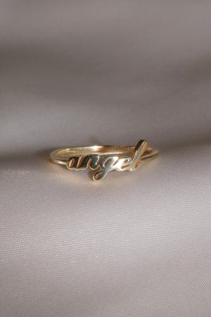 Angel Vermeil Ring