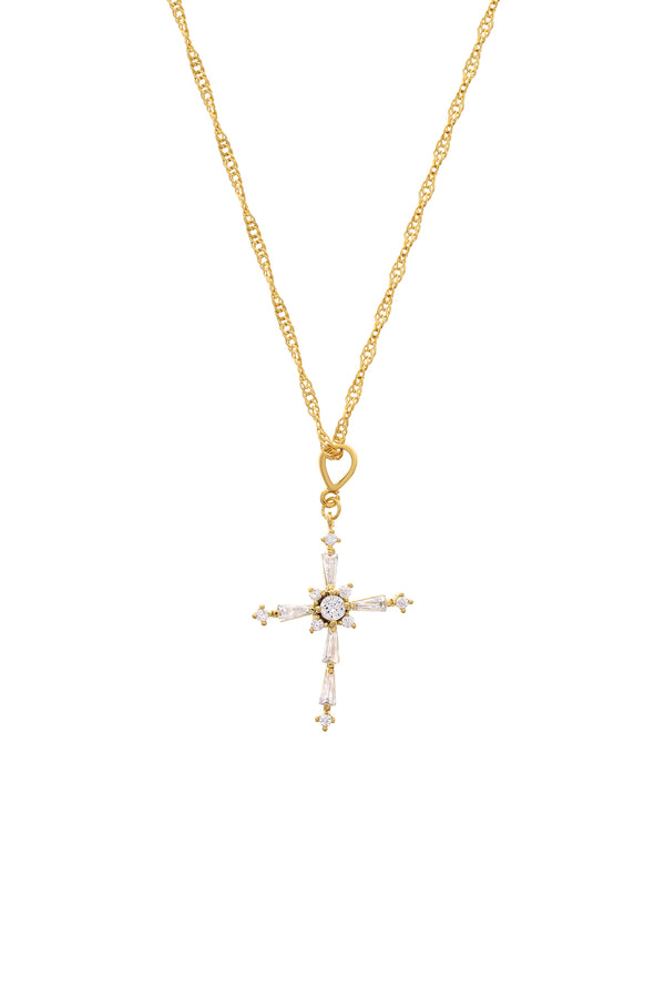 Icon Cross Necklace-Chvker Jewelry