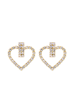 In Your Dreams Heart Earrings