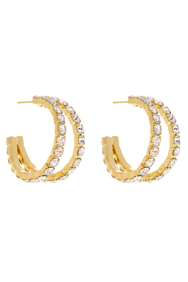 Major Attitude Hoops-Chvker Jewelry