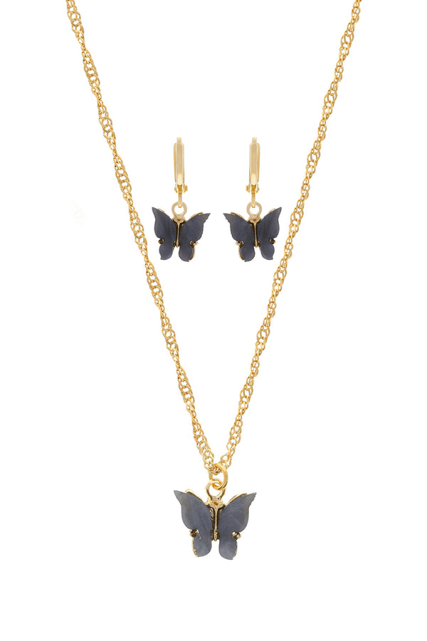 Midnight Butterfly Set image-Chvker Jewelry