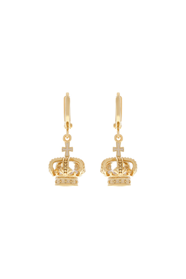 Royal Highness Huggie Earrings