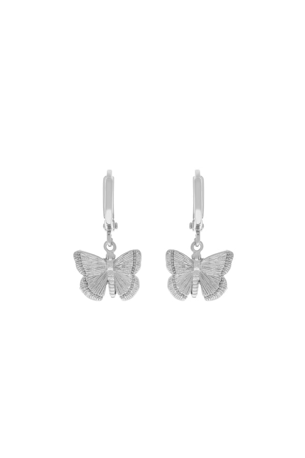 Silver Butterfly Dreams Earrings