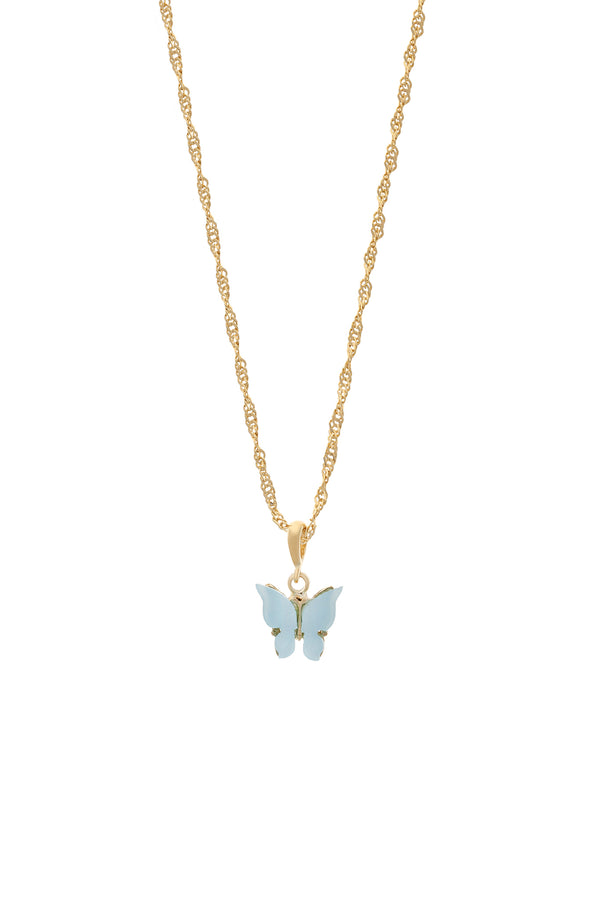 Sky Butterfly Necklace-Chvker Jewelry