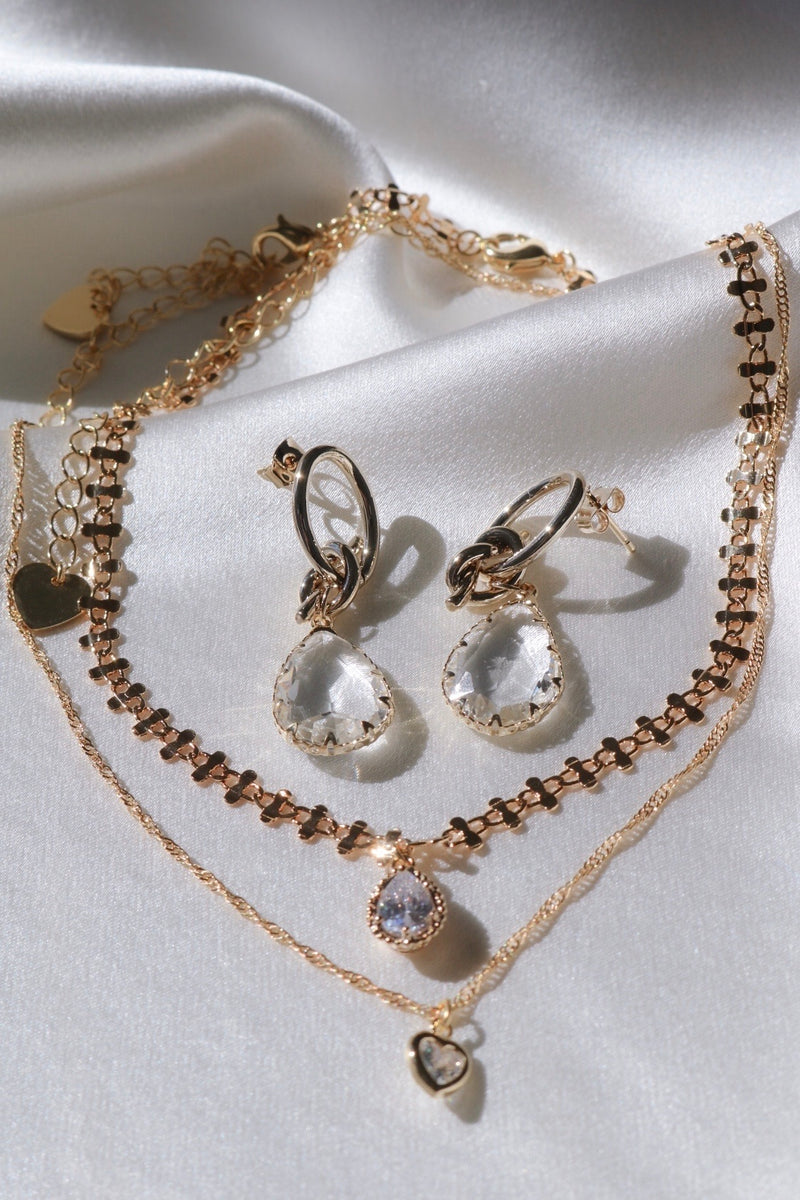 Crystal Nights Set-Chvker Jewelry