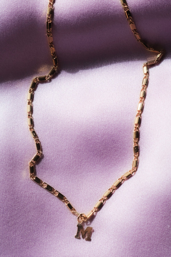 Gold Filled Custom Initial Choker