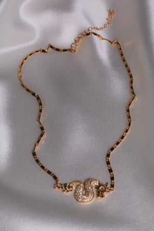 Dance The Night Away Necklace - Gold Filled