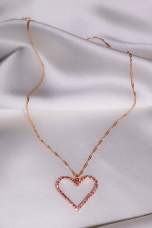 Sugar Cookie Heart Necklace-Chvker Jewelry