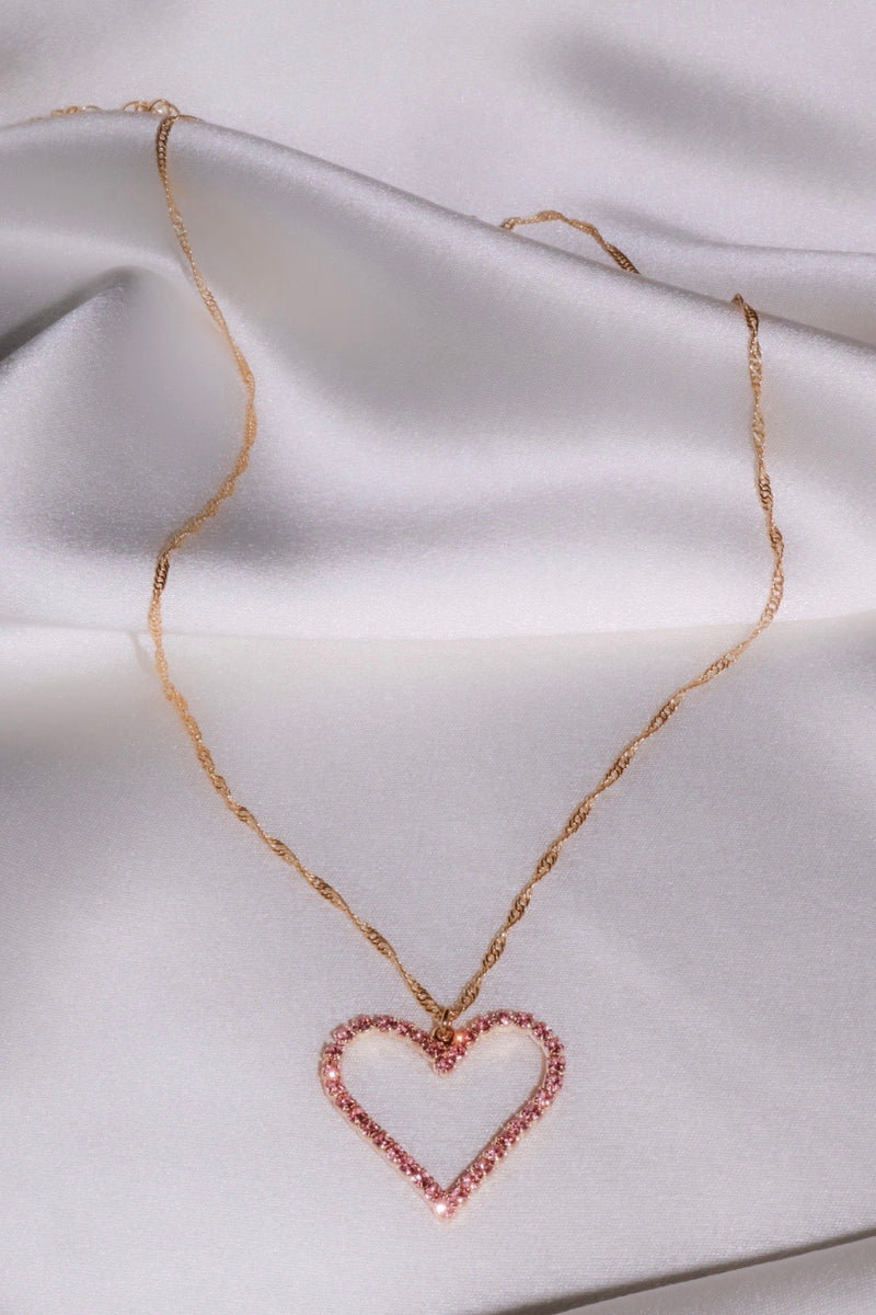Sugar Cookie Heart Necklace
