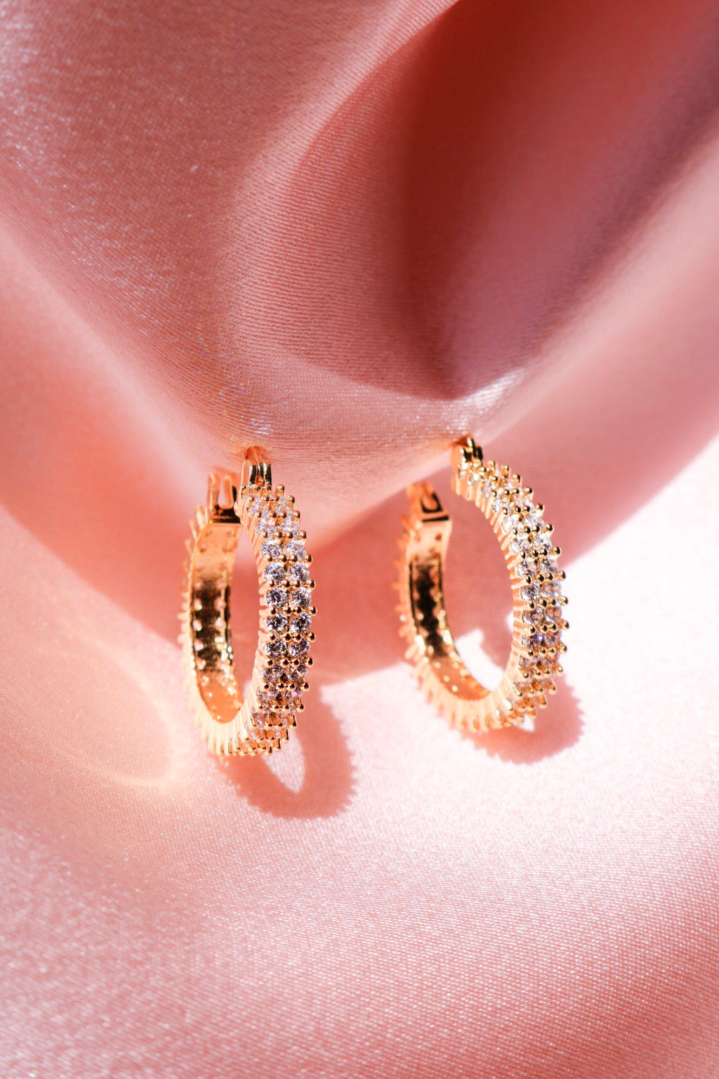 Duchess Hoop Earrings