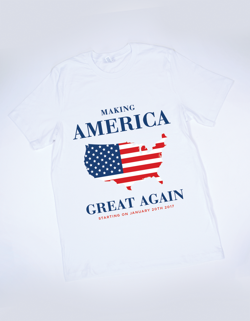 Official Making America Great Again Tee - Large
