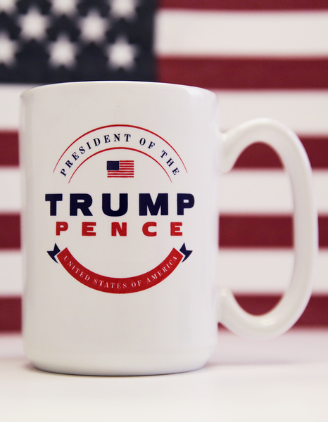 Trump-Pence Presidential Coffee Mug