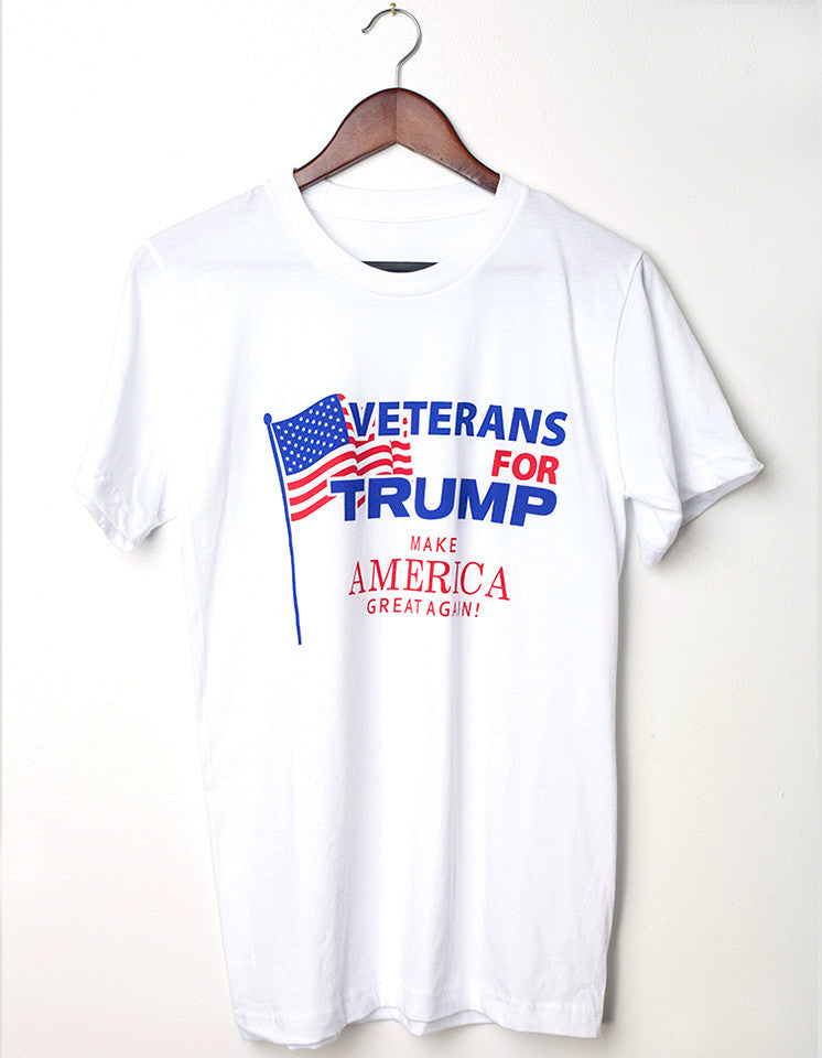 Veterans for Trump Men's Tee