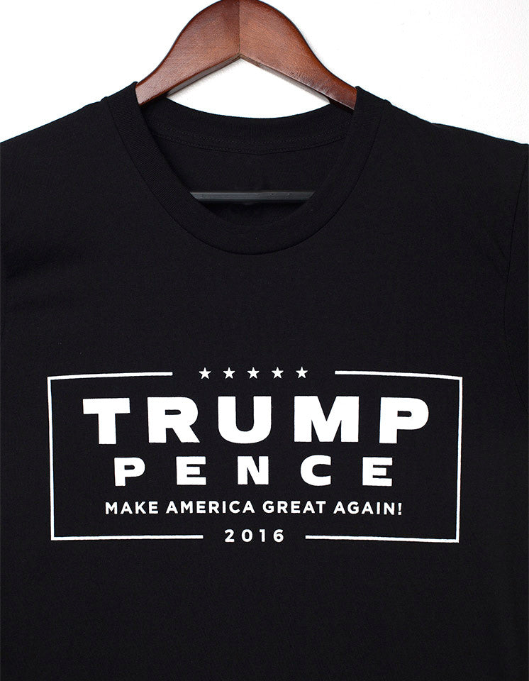 Official Trump-Pence 2016 Men's Tee - Black
