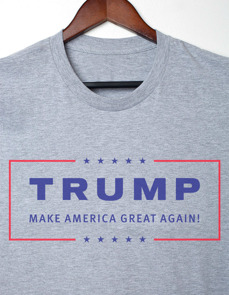 Presidential Grey  Trump  Make  America  Great  Again T-shirt