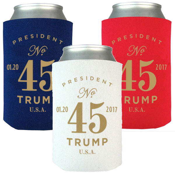 Official Inauguration 45th President Koozies - Pack of 6