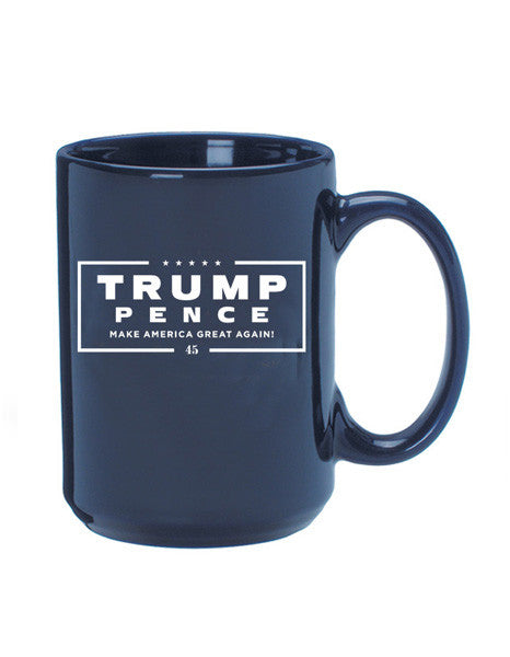 Official Trump-Pence 45 Mug - Navy