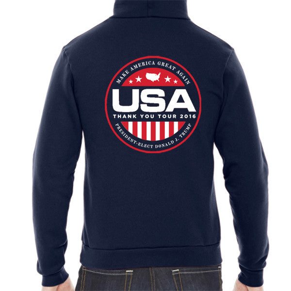 Official USA Thank You Tour 2016 Hooded Pullover - X-Large