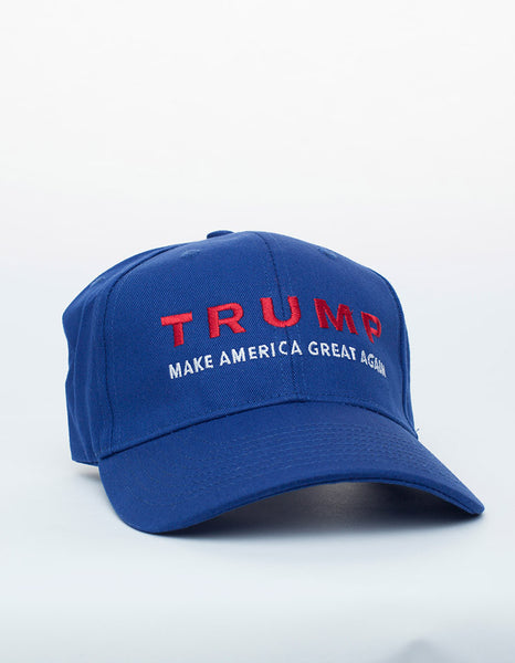 Trump Make America Great Again Structured Cap - Royal