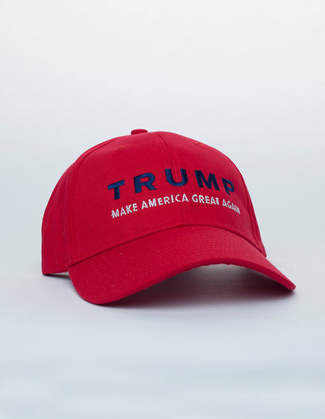 Trump Make America Great Again Structured Cap - Red