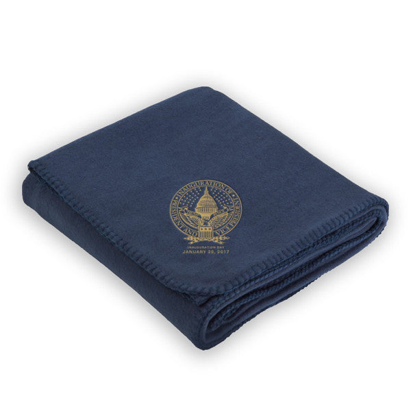 Official Inauguration Fleece Blanket - Navy