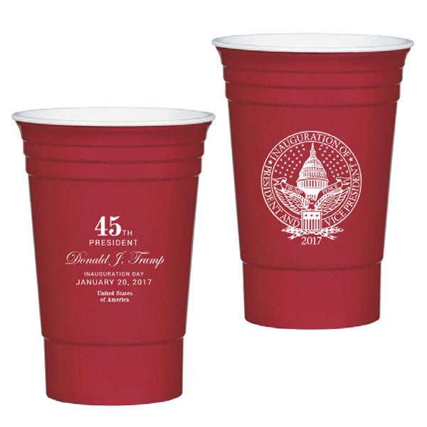 Official Inauguration 16oz. Cups - Pack of 4