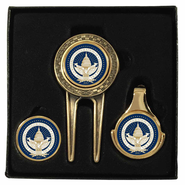 Official Inauguration Seal Golf Tool Set